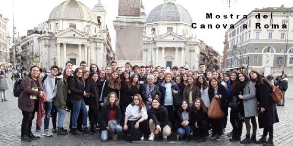 Quarte alla mostra del Canova a Roma