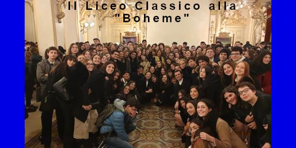 """Liuceo Classico alla """"Boheme"""""""