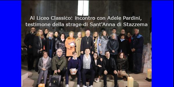 Incontro con Adele Pardini,  testimone della strage di Sant'Anna di Stazzema