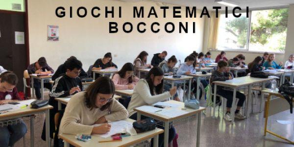 Gichi matematici Bocconi